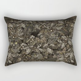Fit In (autumn night colors) Rectangular Pillow