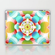 Retro Ombre Flowers (large) Laptop & iPad Skin