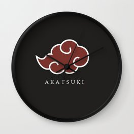 Akatsuki Wall Clock
