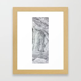 A Cave of Mirrors Framed Art Print