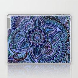 Really Blue Henna Style Laptop & iPad Skin