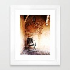 Magic corner Framed Art Print