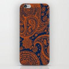 Auburn Paisley iPhone Skin