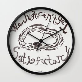 We just can't get satisfactory  Wall Clock