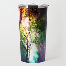 rainbow rain Travel Mug