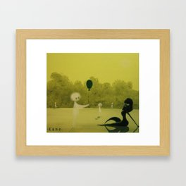 The Forest Spirits will not Tolerate rather Flippant Gifts Framed Art Print