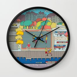 One day in the city - We do the squads? Wall Clock