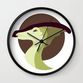 Parasaurolophus (Tea) Wall Clock