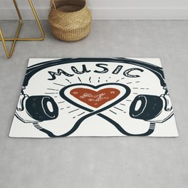 Headphones Rug
