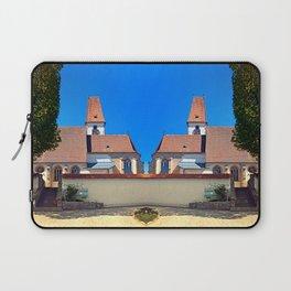 The village church of Hirschbach Laptop Sleeve