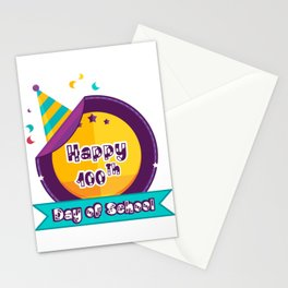 Happy 100 Days Of School Stationery Cards