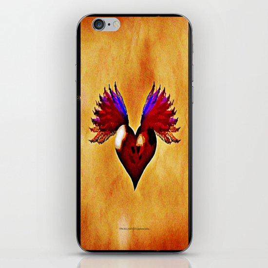 FLYING SKULL HEART iPhone & iPod Skin