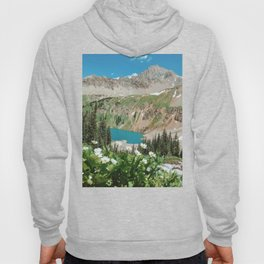 The Blue Lakes of Colorado Hoody