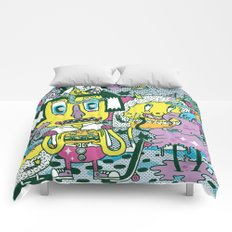 Catching Ideas. Comforters