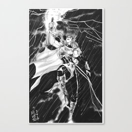 The Mighty Thor Canvas Print