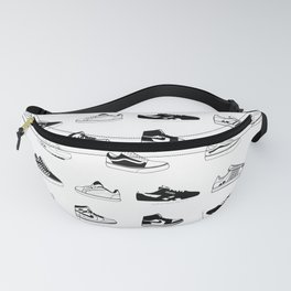 Sneakers White Fanny Pack
