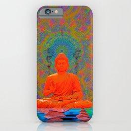 Cool Water Zen (Ultraviolet) (psychedelic, meditation) iPhone Case