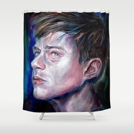 Dane Dehaan Shower Curtain