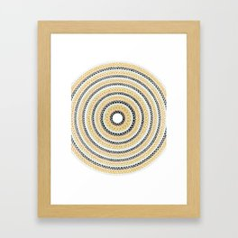 Gold, Silver & Bronze Framed Art Print