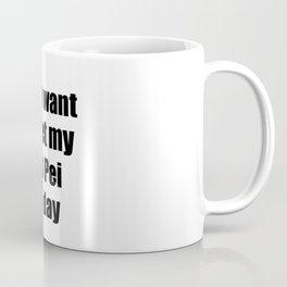 Lab Pei Dog Lover Mom Dad Funny Gift Idea Coffee Mug