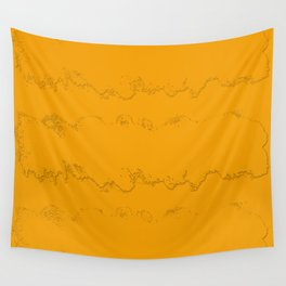 California Orange Peel Wall Tapestry