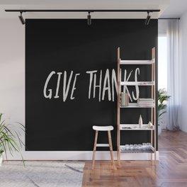 Give Thanks II Wall Mural