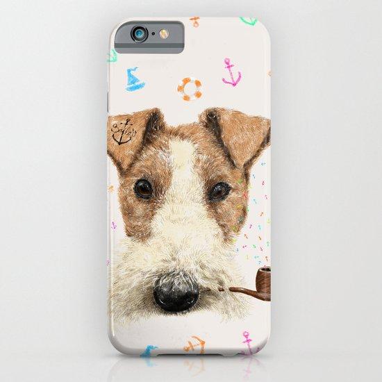 fox terrier sailor iPhone & iPod Case