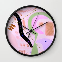 Canary Twist Flash Wall Clock