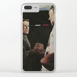 Bill and Tom Clear iPhone Case