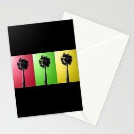 Palm Trees Rasta Stationery Cards