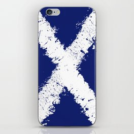 in to the sky, scotland iPhone Skin