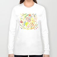 tropical Long Sleeve T-shirts featuring Tropical by Nic Squirrell