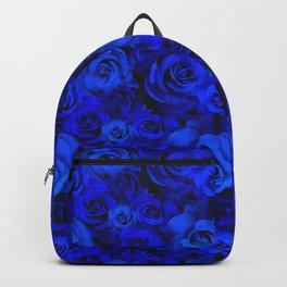 Blue Roses Backpack