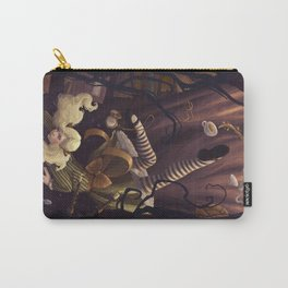 Alice Down the Rabbit Hole Carry-All Pouch