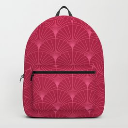 Mermaid Fans: Raspberry Backpack