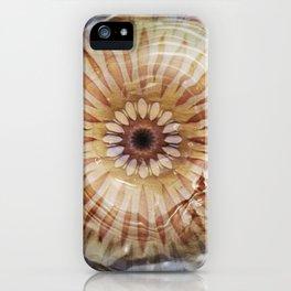 Underwater Sea Star Mandala iPhone Case