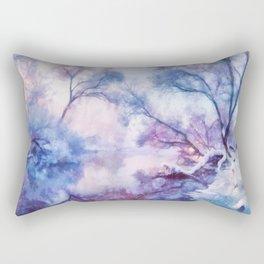 Winter fairy tale II Rectangular Pillow