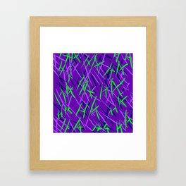 Maniacal Framed Art Print