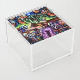 """Medusa's Grief"" Painting Acrylic Box"