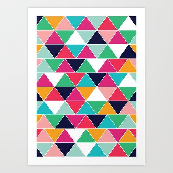 love triangle Art Print