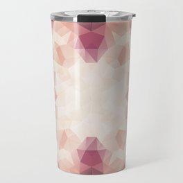 """""""Protea flower"""" triangles design Travel Mug"""