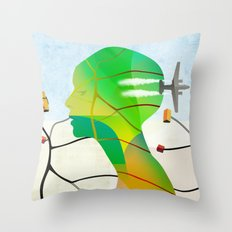 Mapas Throw Pillow