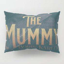 The Mummy, Boris Karloff, 1932 cult horror movie poster, vintage affiche Pillow Sham