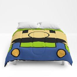 Minimal Luigi Comforters
