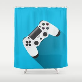 PS4 Shower Curtain
