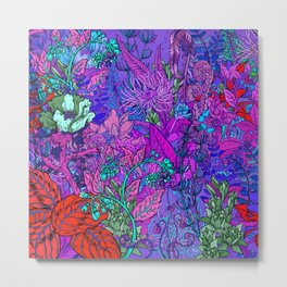 Electric Garden Metal Print