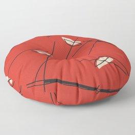 Summer Man Red Modern Floor Pillow