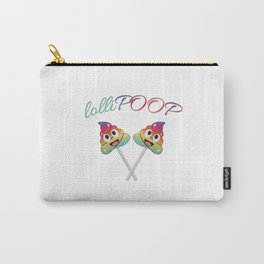 LolliPoop- Colorful unicorn poop lollipop Carry-All Pouch