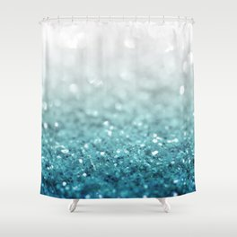 MERMAID GLITTER - MERMAIDIANS AQUA Shower Curtain