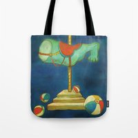 carnival Tote Bags featuring carnival by colorlabo